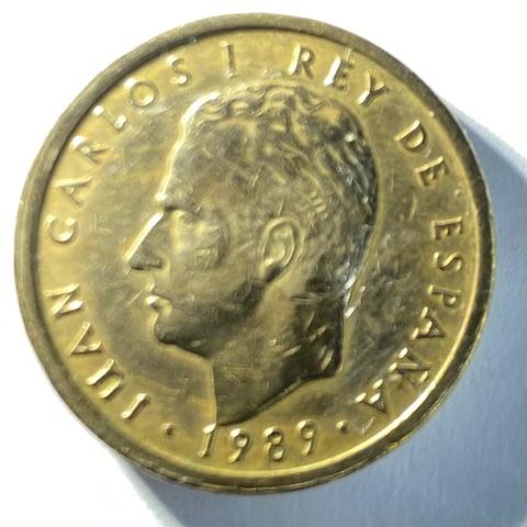 Moneda De 100 Pesetas Del Año 1989