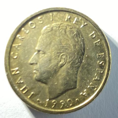 Moneda De 100 Pesetas Del Año 1990