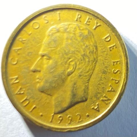 Moneda De 100 Pesetas Del Año 1992