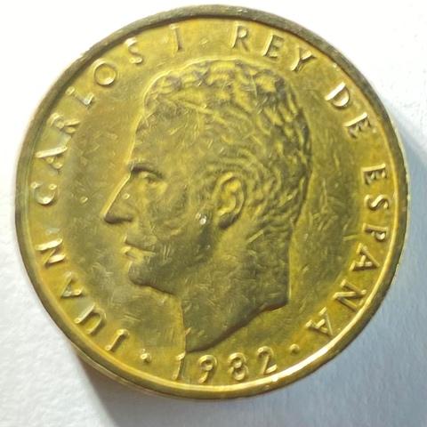 Moneda De 100 Pesetas Del Año 1982