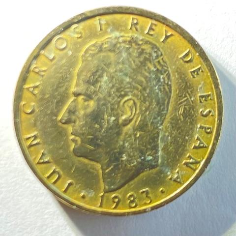 Moneda De 100 Pesetas Del Año 1983
