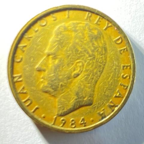 Moneda De 100 Pesetas Del Año 1984