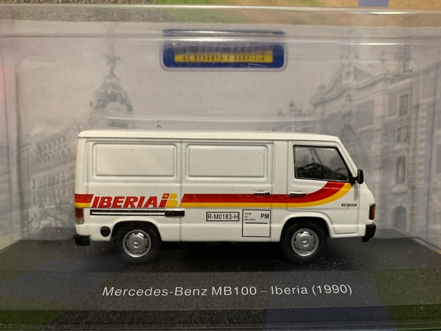 Mercedes Benz Mb 100 Iberia Escala 1:43