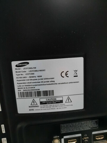 TELEVISOR 37' LCD SAMSUNG + CHROMECAST - foto 2