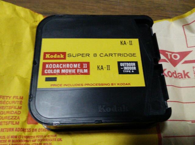 KODAK SUPER 8 CARTRIGE KA-II