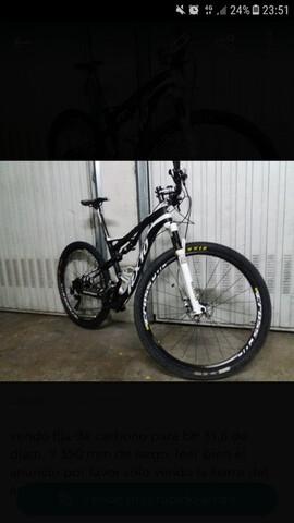 """Bici Doble De Carbono 29 """""""