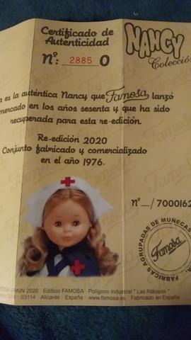 Certificado Nancy Enfermera 2020
