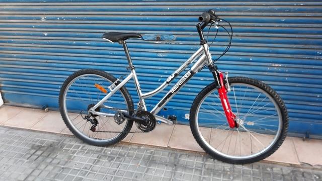 Bici Topbike Aluminio Cromado Ruedas De