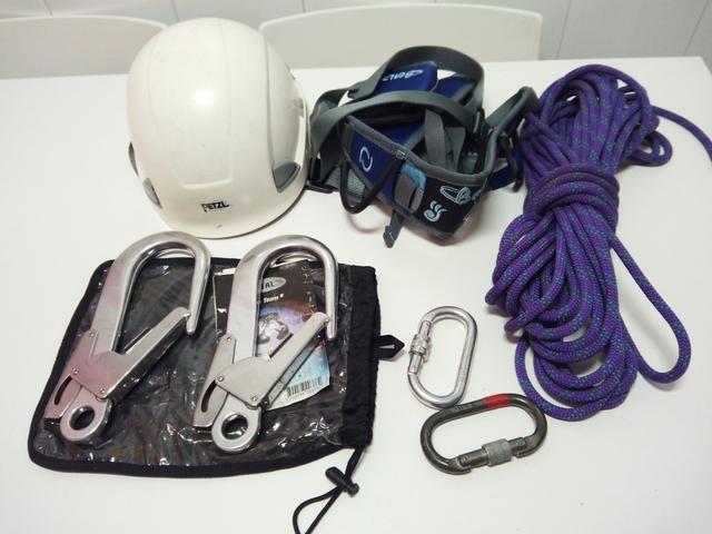 Material Para Trabajos En Altura,  Casco