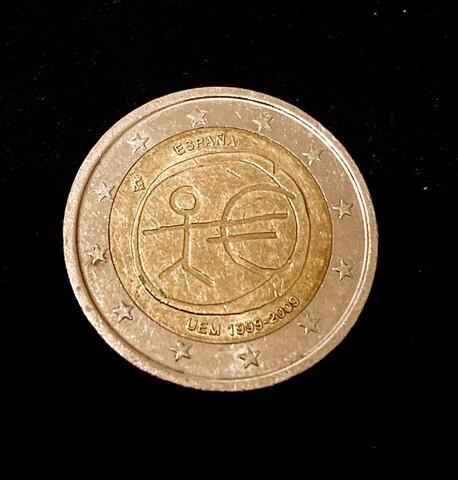 MONEDA 2 EUROS 1999/2009 ESPAÑA - foto 1
