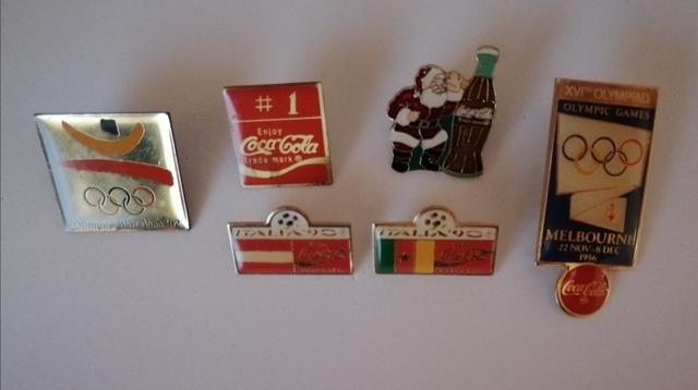 Pins Coca-Cola Varios