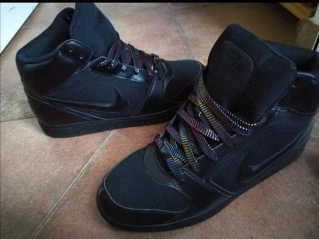 Concesión Una buena amiga Citar  MIL ANUNCIOS.COM - Zapatilla Nike caña alta