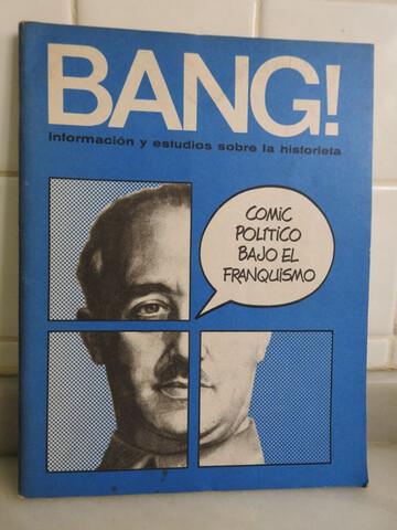 Bang! 3 Revistas De Cómic Años 70