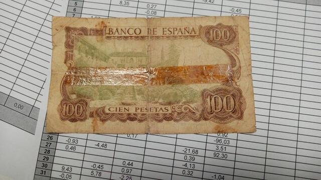 "100 Pesetas 1970 "" Raro """