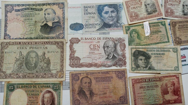 Billetes Varios
