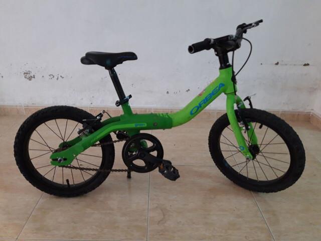 Bicicleta Orbea De 16 Pulgadas