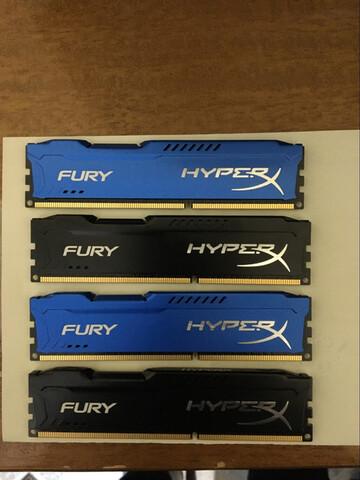 16GB DE RAM DDR3 4X4/16GB - foto 1
