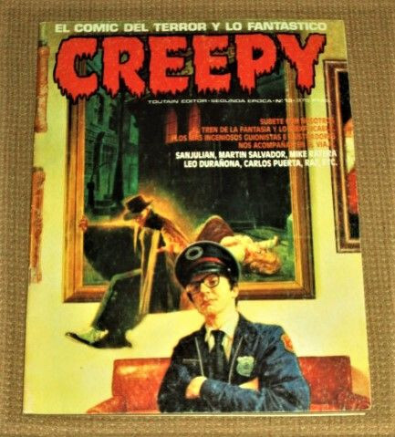 Comic Creepy. Segunda Epoca