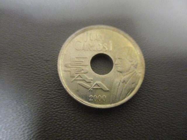 Moneda De 25 Pesetas Año 2000