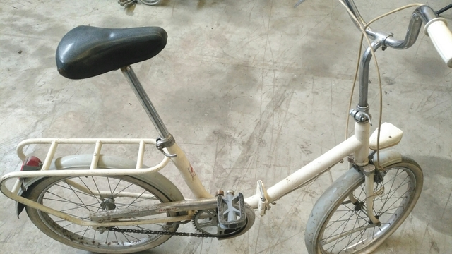 Bicicleta Antigua Plegable.