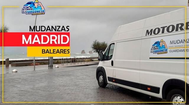 MUDANZAS DESDE MADRID HASTA BALEARES - foto 1
