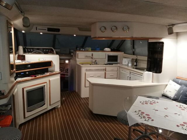 SEA RAY 550 SEDAN BRIDGE - foto 3