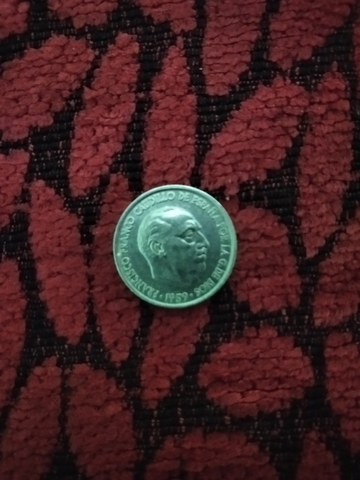 Moneda De 10 Céntimos 1959 Franco