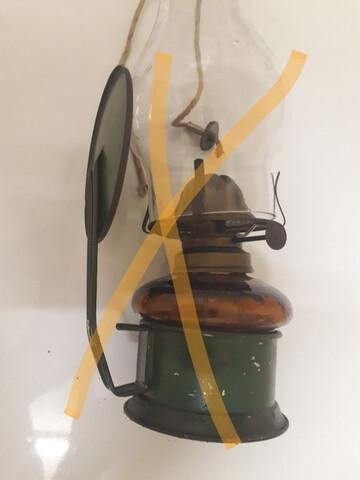 Lámpara Quinqué Guerra Civil Española