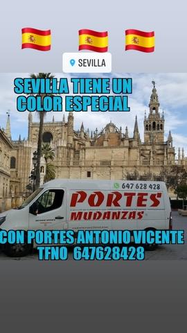 PORTES SEVILLA MUDANZAS PEQUEÑAS - foto 2