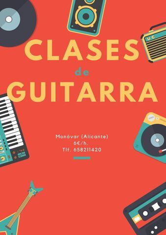 CLASES DE GUITARRA ECONÓMICAS - foto 1