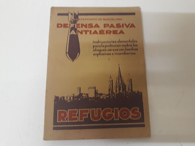 Libro Refugios Guerra Civil Española