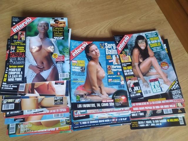 Lote 31 Revistas Interviu 1999-2000