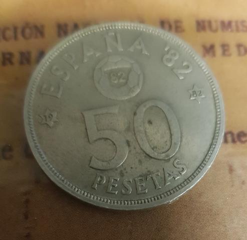 Monedon De 50 Pesetas Juan Carlos I. 82*