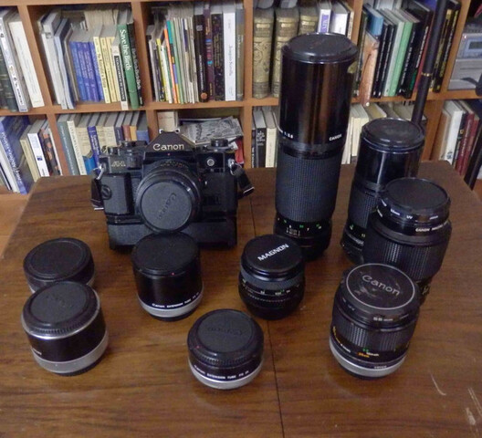 Tapa del cuerpo para cámaras vintage Canon FD montaje A-1 AE-1 AV-1 AT-1 Etc-Reino Unido Stock