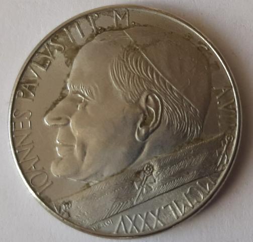 50 Liras 1985 Ciudad Del Vaticano.