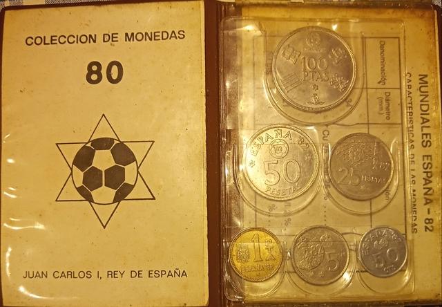 Monedas Del Mundial De España 82