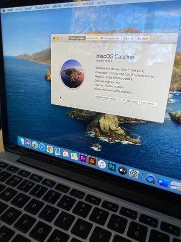 MACBOOK PRO 1TB 16GB RAM INTEL 7 - foto 7