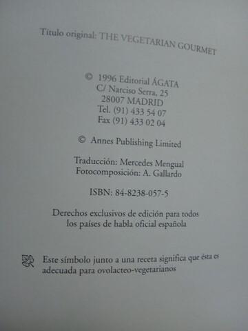 RECETAS VEGETARIANAS,  ALTA COCINA - foto 2