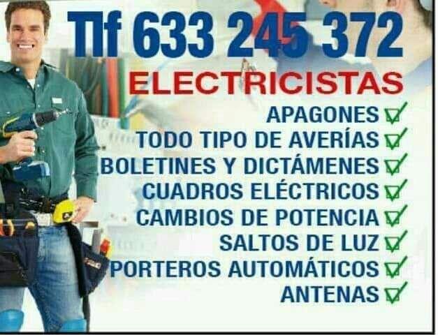 ELECTRICISTA URGENTE AUTORIZADO - foto 1