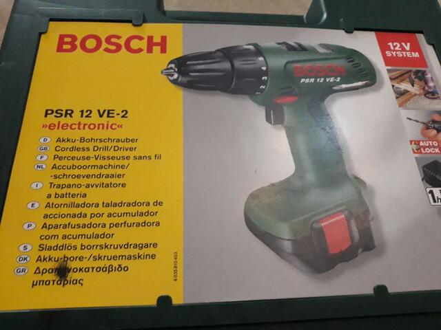 Atornillador Bosch Psr 12 Ve - 2
