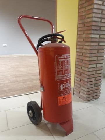 Carro Extintor Grande