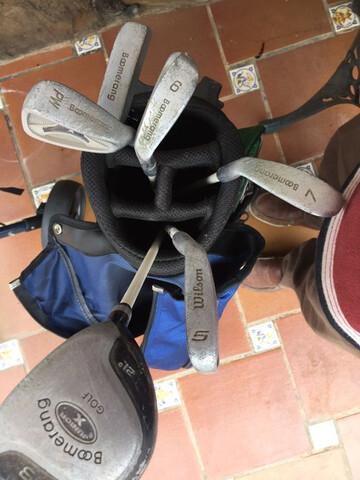 Palos Golf Con Bolsa