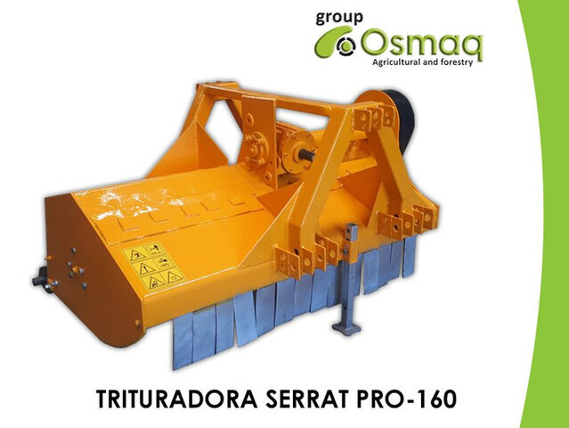 TRITURADORA SERRAT PRO-160 REVERSIBLE - foto 1