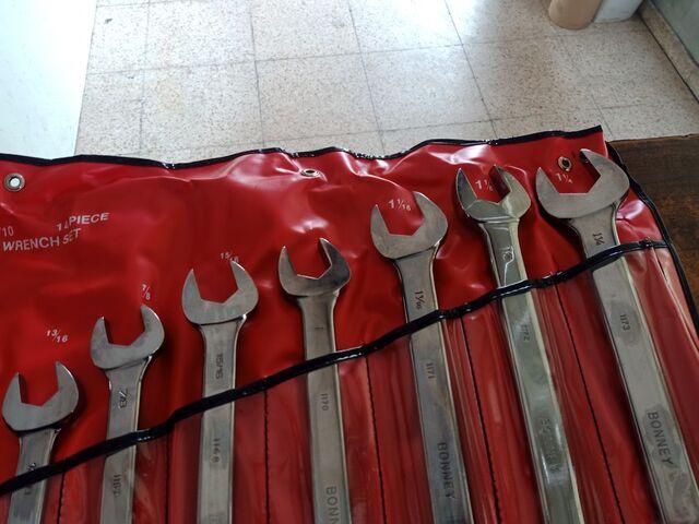 KIT LLAVES COMBINADAS BONEY EN PULGADAS - foto 4