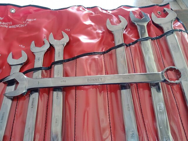 KIT LLAVES COMBINADAS BONEY EN PULGADAS - foto 5