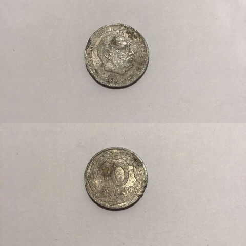 10 Céntimos De Peseta Franco 1959