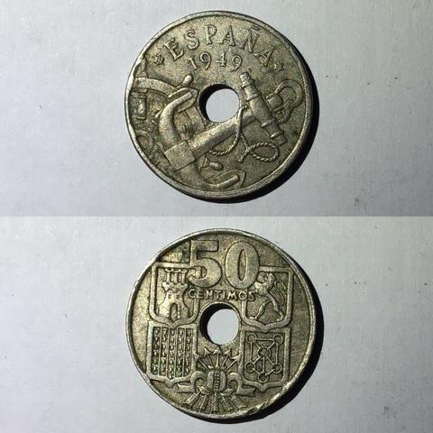 50 Pesetas De Franco 1949