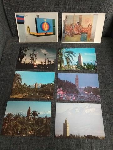 Postales Marruecos