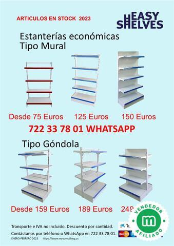 ESTANTERIAS METALICAS SUPERMERCADO - foto 1