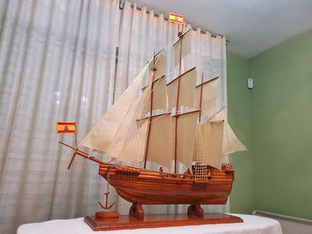 Maqueta Del Barco Gran Tamaño